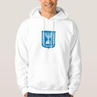 emblema de Israel Moleton Com Capuz