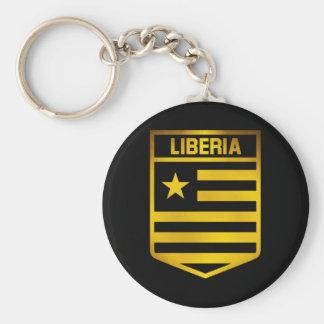 Emblema de Liberia Chaveiro