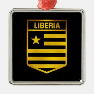 Emblema de Liberia Ornamento De Metal
