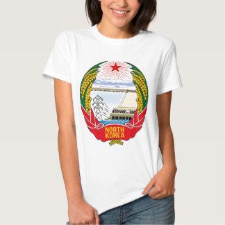 Emblema do DPRK (Coreia do Norte) T-shirts