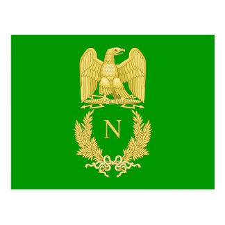 Emblema imperial de Napoleon mim cartão
