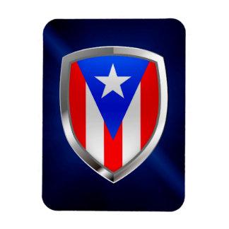 Emblema metálico de Puerto Rico Ímã