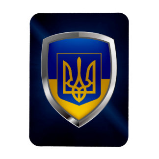 Emblema metálico de Ucrânia Ímã