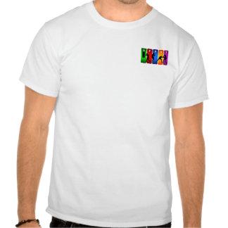 Emblema multicolorido do encaixotamento