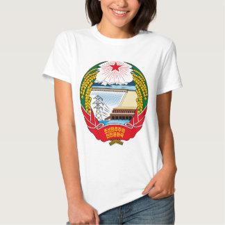emblema norte de Coreia Tshirts