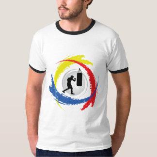 Emblema Tricolor de encaixotamento Camiseta
