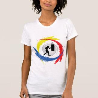 Emblema Tricolor de encaixotamento Camisetas