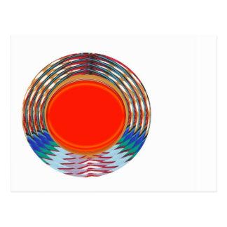 Emblema VERMELHO Sparkling de Deco: Os PRESENTES e Cartão Postal