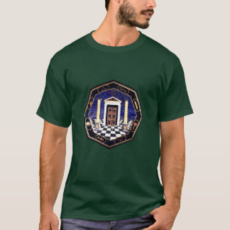 Emblemas maçónicos camiseta