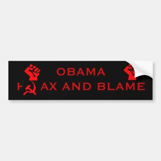 Embuste e culpa de Obama Adesivo