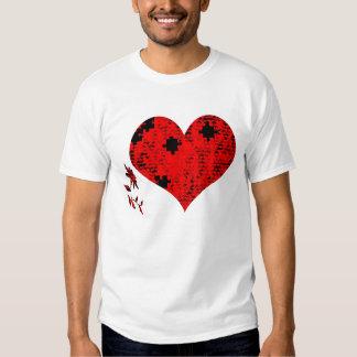 Emende meu coração tshirts