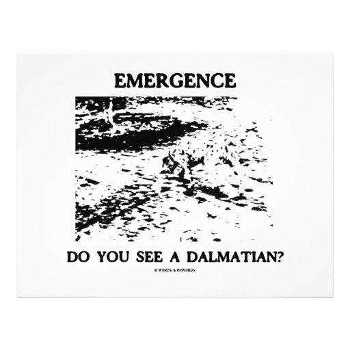 Emergência você vê um Dalmatian? Panfletos Personalizados