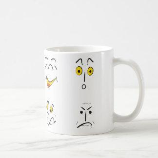 emoções caneca de café