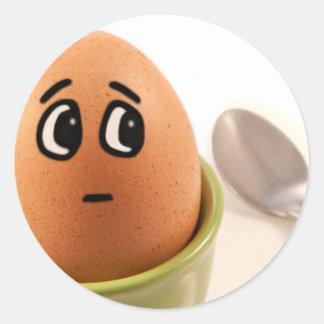 Emoções do ovo adesivo