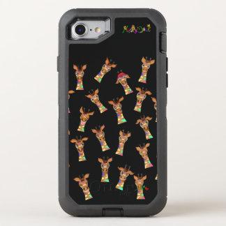 Emoções pelos Feliz Juul Empresa Capa Para iPhone 7 OtterBox Defender