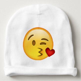 Emoji - beijo de jogo gorro para bebê