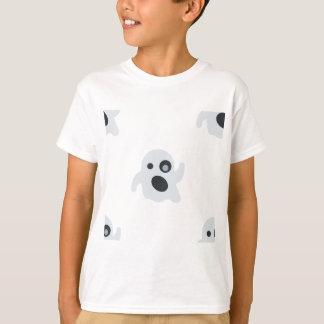 emoji do fantasma camiseta