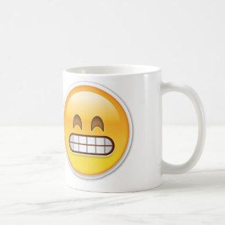 Emoji inábil caneca de café