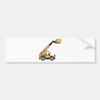 Empilhadeira da construção adesivo para carro