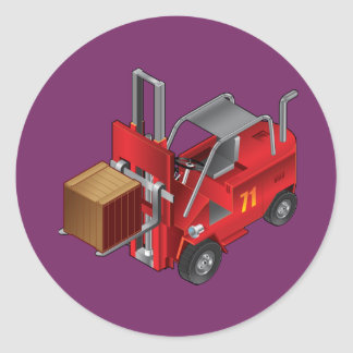 Empilhadeira, design do caminhão de pálete dos adesivo