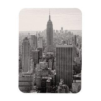 Empire State Building da skyline da cidade de NY, Foto Com Ímã Retangular