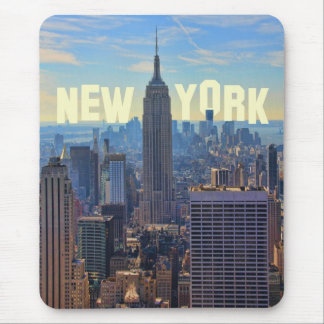 Empire State Building da skyline de NYC, comércio Mouse Pad