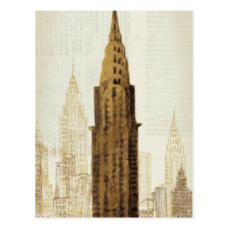 Empire State Building NYC Cartão Postal