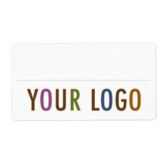 Empregado feito sob encomenda do logotipo das etiqueta de frete