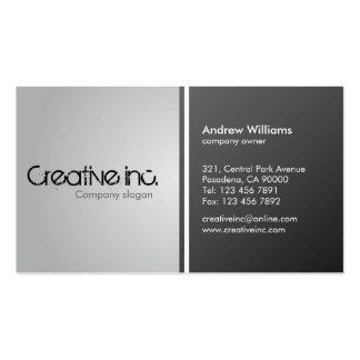 Empresa - cartões de visitas