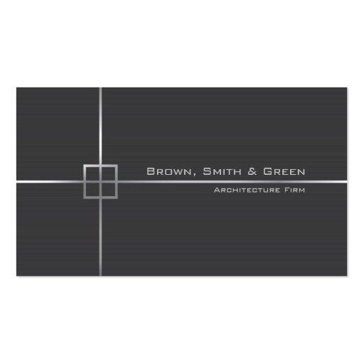 Empresa da arquitetura modelo cartao de visita