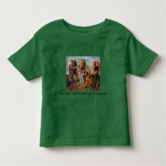 empresa da camisa da criança dos anjos t-shirts