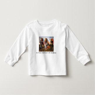 empresa da camisa da criança dos anjos camisetas