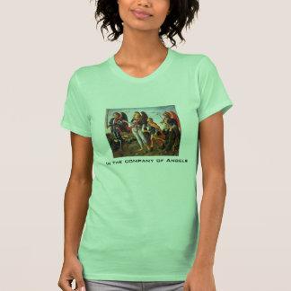 empresa da camisola de alças das mulheres dos t-shirt