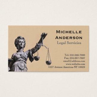 Empresa de advocacia cartão de visitas