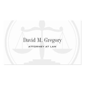 Empresa de advocacia profissional simples do advog cartão de visita