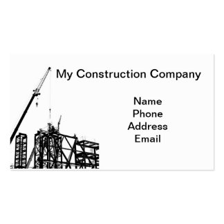 Empresa de construção civil do Highrise Cartão De Visita