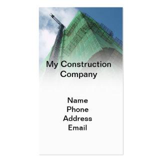 Empresa de construção civil do Highrise Cartões De Visitas