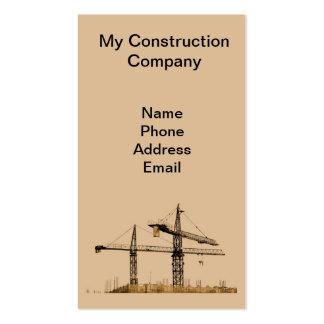 Empresa de construção civil do Highrise Modelo Cartões De Visitas