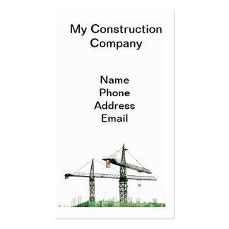 Empresa de construção civil do Highrise Cartoes De Visita