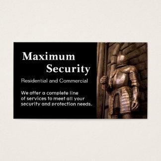 Empresa de segurança cartão de visitas
