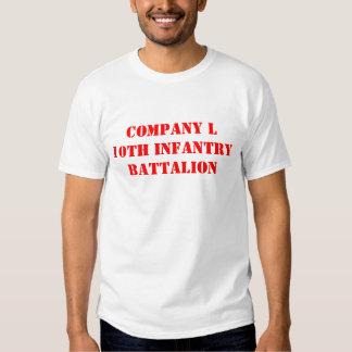 EMPRESA L 10o INFANTARIA Tshirt