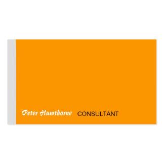 Empresário de Em linha Projetar Mínimo Empresa Cartão De Visita