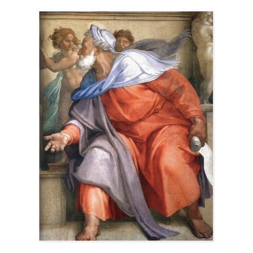 En do sumário: Ezekiel descreveu em uma capela de  Cartão Postal