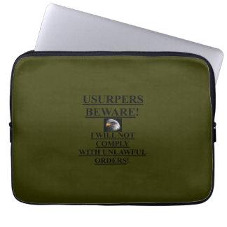 Encaixote o verde do OD da luva de /Laptop (13 den Bolsas E Capas Para Computadores