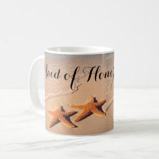 Encalhe a caneca de café do presente da madrinha
