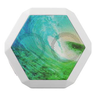 encalhe a onda, REX de Boombot, iPod, smartphones, Caixa De Som Branca Com Bluetooth
