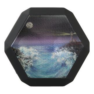 encalhe a onda, REX de Boombot, iPod, smartphones, Caixa De Som Preta Com Bluetooth