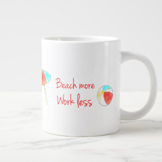 Encalhe mais, trabalhe menos caneca de café