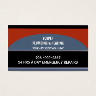 Encanamento e manutenção e reparo Home do Cartão De Visitas