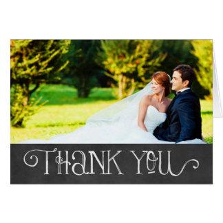 Encanto do quadro dos cartões de agradecimentos |